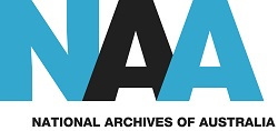 The Australian Government | National Archives of Australia logo