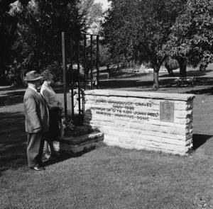 Memorials - Memorial to author of D'ye Ken John Peel