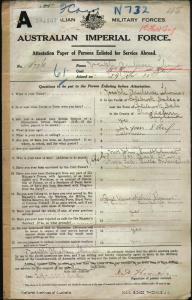 Thomas Joseph Ambrose : SERN 5776 : POB Shropshire England : POE Nowra NSW : NOK S Smithurst Mrs John