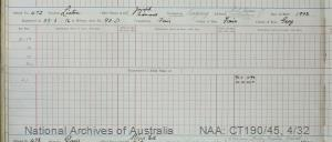 SURNAME - LINTON;  GIVEN NAME(S) - Joseph Edward;  OFFICIAL NUMBER - 472;  DATE OF BIRTH - 1902;  PLACE OF BIRTH - [Unknown];  NEXT OF KIN - [Unknown];  SERVICE/STATION -Tasmania;  REGISTRATION DATE - 29 June 1916