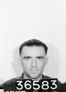 MCMAHON WILLIAM JAMES : Service Number - 36583 : Date of birth - 31 Oct 1909 : Place of birth - SYDNEY NSW : Place of enlistment - SYDNEY : Next of Kin - MCMAHON AILEEN [Black and white negative - identity photograph - portrait]