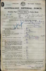 Freebody Edwin James Thomas : SERN 2148 : POB Nimmitabel NSW : POE Nimmitabel NSW : NOK M Freebody Mrs J