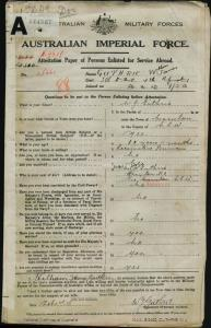 GUTHRIE William James : Service Number - 25661 : Place of Birth - Marulan NSW : Place of Enlistment - Sydney NSW : Next of Kin - (Father) GUTHRIE William James