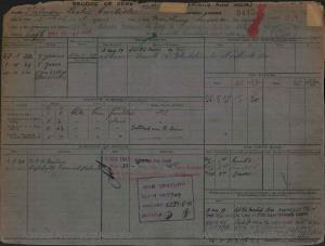 PALMER LESLIE CARLISLE : Service Number - 9445 : Date of birth - 23 Mar 1904 : Place of birth - WORTHING : Place of enlistment - MELBOURNE : Next of Kin - PALMER ALICE