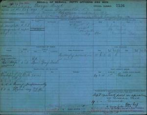 PULHAM GEORGE BROOK : Service Number - 7536 : Date of birth - 28 Oct 1891 : Place of birth - DARGAVILLE NZ : Place of enlistment - Unknown : Next of Kin - HARRIET