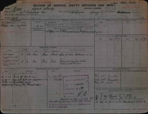 EVES ALFRED STANLEY : Service Number - 14763 : Date of birth - 27 Feb 1904 : Place of birth - RICHMOND ENGLAND : Place of enlistment - SYDNEY : Next of Kin - TERESA
