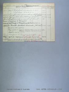 MCMANUS JAMES CATHAL BOYD : Date of birth - 11 Mar 1891 : Place of birth - VIC : Place of enlistment - Unknown : Next of Kin - MCMANUS VERA