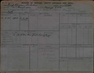 KING NORMAN NICHOLAS : Service Number - 11161 : Date of birth - 31 Mar 1904 : Place of birth - ORANGE NSW : Place of enlistment - Unknown : Next of Kin - KING GEORGE