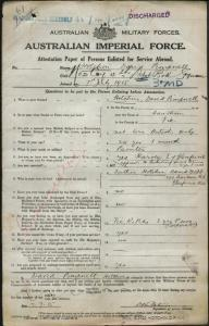 David Pimpnell Hotchin | Discovering Anzacs | National Archives of ...
