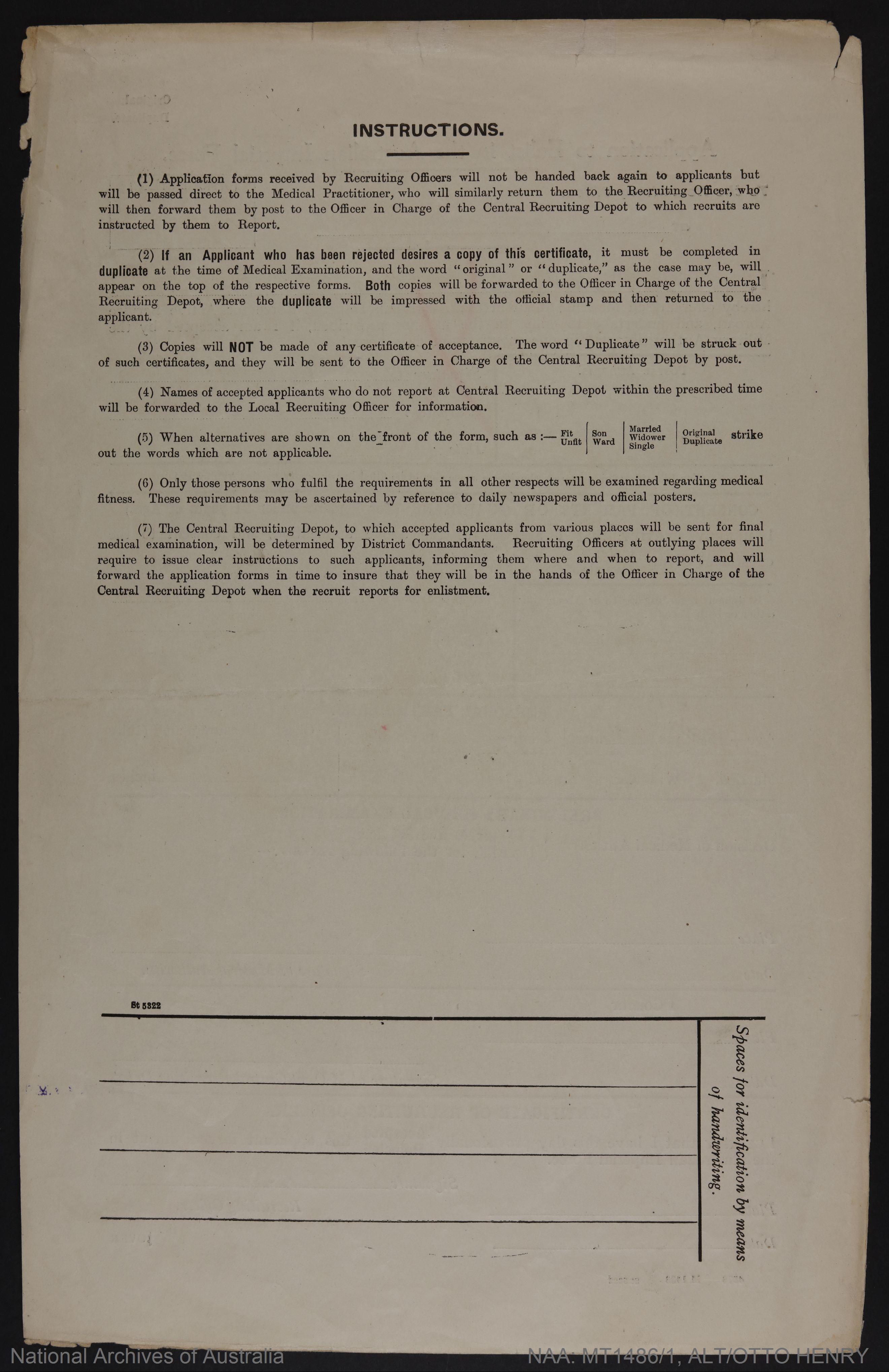 Alt, Otto Henry; age 24; address - Sydney