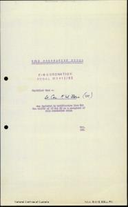 BELL, FREDERICK WILLIAM - Boer War Dossier