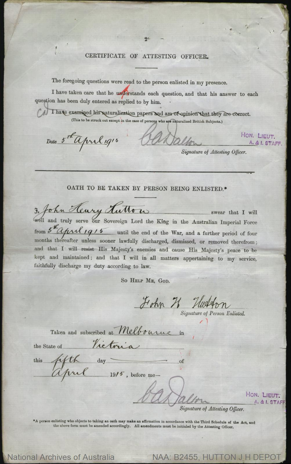 Hutton john henry service number depot place of birth hutton john henry service number depot place of birth melbourne vic aiddatafo Choice Image