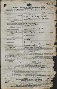 HOWSE Neville Reginald : Service Number - Major-General : Place of Birth - N/A : Place of Enlistment - N/A : Next of Kin - (Wife) HOWSE Evelyn