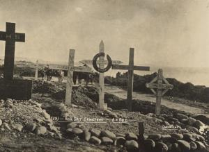"""With the Camera at Anzac"" -  ""Hell Spit"" cemetery"
