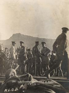 """With the Camera at Anzac"" - Lord Kitchener & his Generals at Anzac 14.11.1915"