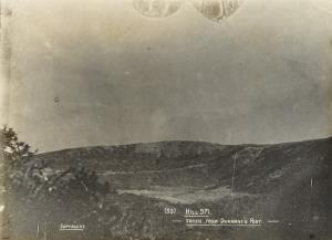 """With the Camera at Anzac"" - Hill 971. Taken from Durrant's post"