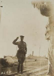 """With the Camera at Anzac"" - Lord Kitchener farewell salute at Anzac - 14.11.1915"