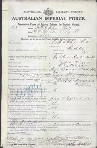 MOFFATT John Rex : Service Number - Lieutenant : Place of Birth - Brighton VIC : Place of Enlistment - Melbourne VIC : Next of Kin - (Wife) MOFFATT Helen M