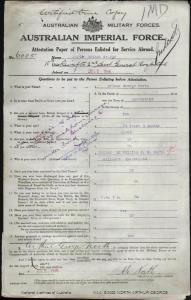 NORTH Arthur George : Service Number - 6005 : Place of Birth - N/A QLD : Place of Enlistment - Brisbane QLD : Next of Kin - (Father) NORTH William J E