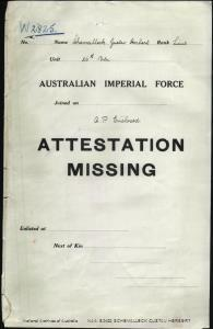 SCHEMALLECK Gustav Herbert : Service Number - Lieutenant : Place of Birth - Bundaberg QLD : Place of Enlistment - N/A  : Next of Kin - (Wife) SCHEMALLECK Daisy Sarah Abigal