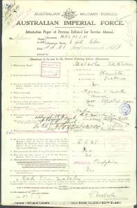 MALCOLM Edith Eileen : Service Number - Nurse : Place of Birth - Hamilton VIC : Place of Enlistment - N/A  : Next of Kin - (N/A) MALCOLM Mary