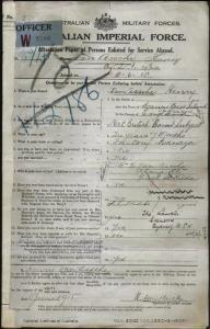 VAN ASSCHE Henry : Service Number - Lieutenant : Place of Birth - Mauritius Island Africa : Place of Enlistment - Melbourne VIC : Next of Kin - (Mother) VAN ASSCHE Ethel